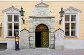 House of the Brotherhood of Blackheads in Tallinn — Stock Photo