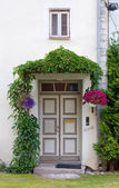 Historic House's Front Door — Stock Photo