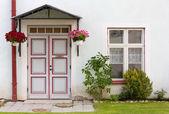 Historic House's Front Door — Stock Photo