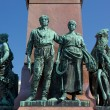 Close-up on Alexander II Monument in Helsinki — Stock Photo