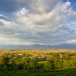 Stock Photo: View on Friuli's Plain near Buttrio