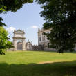 Entrance to Villa Pisani's Park — Stock Photo #34133823