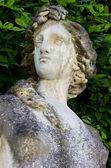 Närbild på en kvinnlig staty — Stockfoto