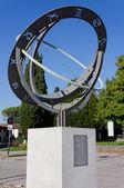 Zodiacal Sundial in Aiello del Friuli — Stock Photo
