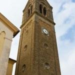 Belfry of a Neo-Gothic Church in Friuli — Stock Photo