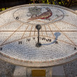 Stock Photo: Mosaic Sundial in Aiello del Friuli