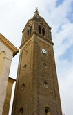 Belfry of a Neo-Gothic Church in Friuli — Stock Photo