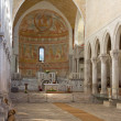 Stock Photo: Interior of Basilicof Aquileia