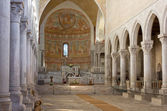 Interior of the Basilica of Aquileia — Stock Photo