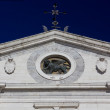 Stock Photo: Pediment of Duomo in Palmanova, Italy