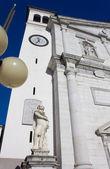 The Duomo in Palmanova, Italy — Stock Photo