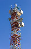 Telecommunication Antenna — Stock Photo