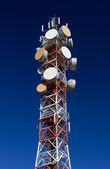 Antena de telecomunicação — Foto Stock