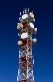 Telecommunicatie antenne — Stockfoto