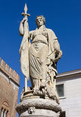 Female Statue in Treviso — Stock Photo