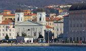 Trieste's Waterfront — Stok fotoğraf