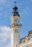 Torre dell'autorità portuale costruendo a valencia — Foto Stock