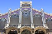バレンシア、スペインの中央市場 — ストック写真