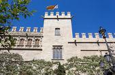Silk Market Gothic Palace in Valencia — Stock Photo