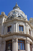 Detail of Valencia Post Office Palace — Stock Photo