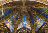 Valencia Cathedral Renaissance Frescoes — Stock Photo