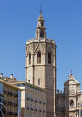 Valencia Cathedral Bell Tower — Stock Photo