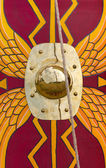 Ancient Roman Shield — Stock Photo