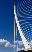 Detail of a Modern Bridge — Stock Photo