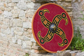 Ancient Shield — Stock Photo