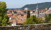 Gorizia from its Castle Park — Stock Photo