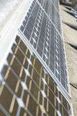 Close-up of some solar panels. — Stock Photo