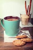 Tazza di cacao — Foto Stock