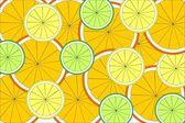 Citrus texture — Stock Photo
