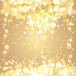 Christmas gold background — Stockvektor #15732987