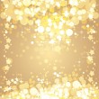 Stock vektor: Christmas gold background