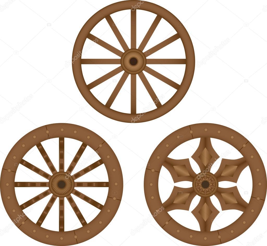 Broken Wheel Clip Art : Pin wooden wheel clip art image search results on pinterest