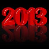 Year 2013 — Stock Vector