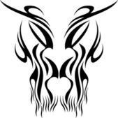 Tattoo mask — Stock Vector