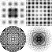 Dot Pattern white — Stock Vector