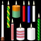 свечи. — Cтоковый вектор