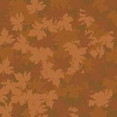 秋天枫叶图案 — 图库矢量图片