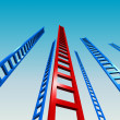 Ladders to the Sky - Stock Photo