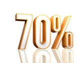 70 Percent — Fotografia Stock