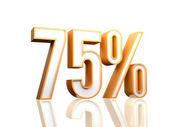 75 per cento — Foto Stock