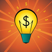 Money Idea — Stock Vector