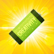 Creativity Battery — Stock Vector