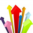 Arrows on High — Stock Photo