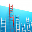 Stock Photo: Highest Ladder