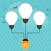 Idea Management — Stock Vector