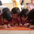 Foto Stock: Children Drawing Activity